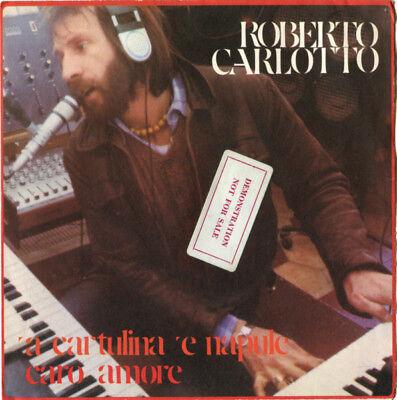 """ROBERTO CARLOTTO A CARTULINA E NAPULE CARO AMORE - aus 7"""" Sammlung 1978 [HTTPS]"""