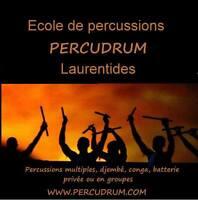École de percussion PERCUDRUM, Laurentides Piedmont