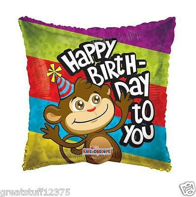 Birthday Monkey Gift - Balloon 18