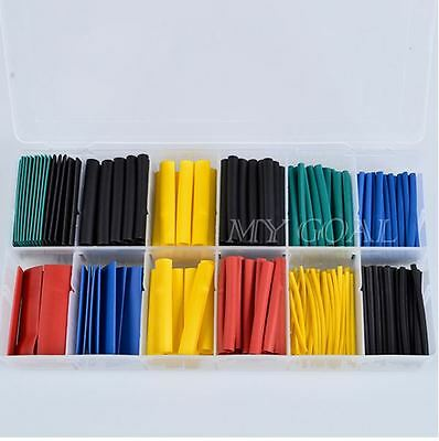280 Pcs Iso9001 8-size Assortment 21 Heat Shrink Tubing Kit Box