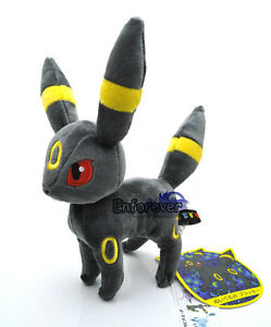8-New-Pokemon-UMBREON-Plush-Rare-Soft-Toy-Doll-PC1853