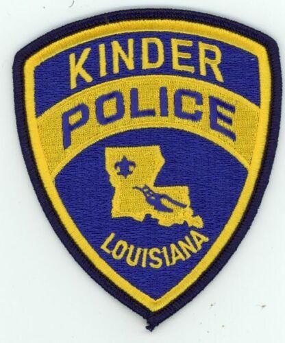 LOUISIANA KINDER POLICE NEW PATCH SHERIFF
