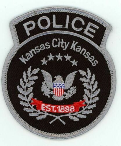 KANSAS KS KANSAS CITY POLICE SUBDUED SWAT STYLE NEW PATCH SHERIFF