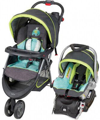Baby Trend EZ Ride 3-Wheel Stroller EZ Flex-Loc Infant Car Seat 5 Travel System
