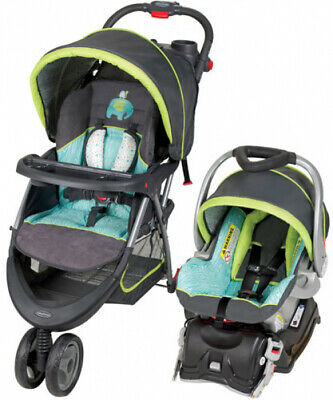 Baby Trend EZ Ride 5 Travel System Infant Stroller and Car Seat Combo  Woodland