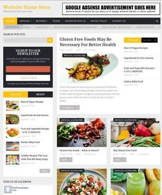 Food Store - Work From Home Online Business Website For Sale Domain Hosting