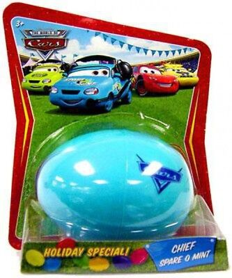 Cars Easter Eggs (The World of Cars Easter Eggs Easter Egg Chief Spare O Mint Diecast)
