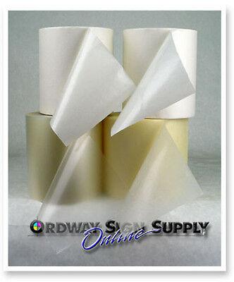 4 - 6 Rolls Clear Conform Vinyl Cutter Decal Application Transfer Tape Sampler
