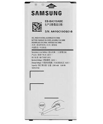 Original Samsung Akku für Samsung Galaxy A3 2016 A310F EB-BA310ABE 2300mAh Accu