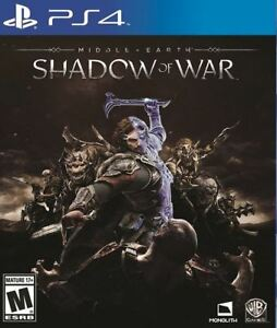 Middle-Earth: Shadow of War PS4 *Excellent Condition*