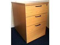 Under desk units - 3 drawer