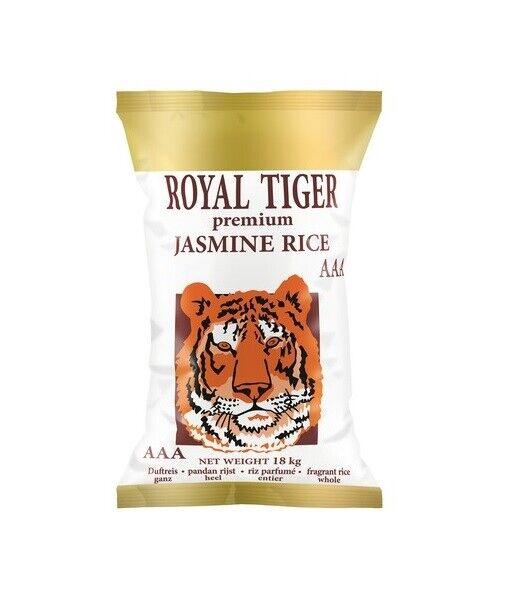 Jasmin Reis 18kg AAA Premium Duftreis Langkorn Qualitätsreis Tiger Jasminreis