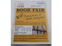 Feed the Minds Charity BOOK FAIR Sat 24th June 9am-1pm ST ANDREWS CHURCH, NORWICH City Centre