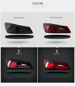 Lexus is250 is350 taillight led lumiere tail light