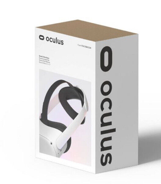 Oculus Quest 2 Elite Strap for Enhanced Support and Comfort - Gray