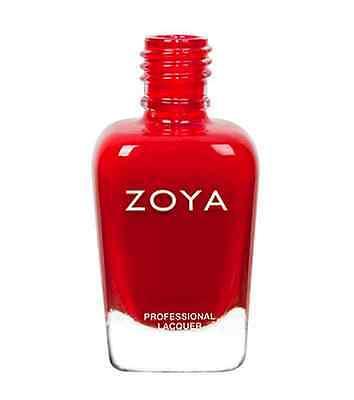 ZOYA ZP001 CARMEN classic true red ~ glossy cream finish nail polish lacquer NEW