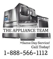 Appliance Installs - We Install It All! 1-888-566-1112