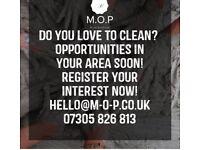Seeking Experienced Self Employed Cleaners