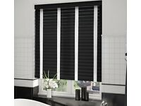 Wood Venetian blinds to suit your windows from £99 x3 wow!!
