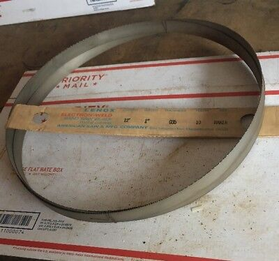 Lenox Metal Cutting Band Saw Blade 12 X 1 X .035 10 Tpi Raker 144