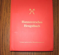 Hannoversches Hengstbuch (Hanoverian) reference book