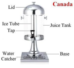 Single Juice Drink Dispenser Beverage Cold Drink Cooler 170631