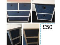 4 and 2 drawer set from Next never been used