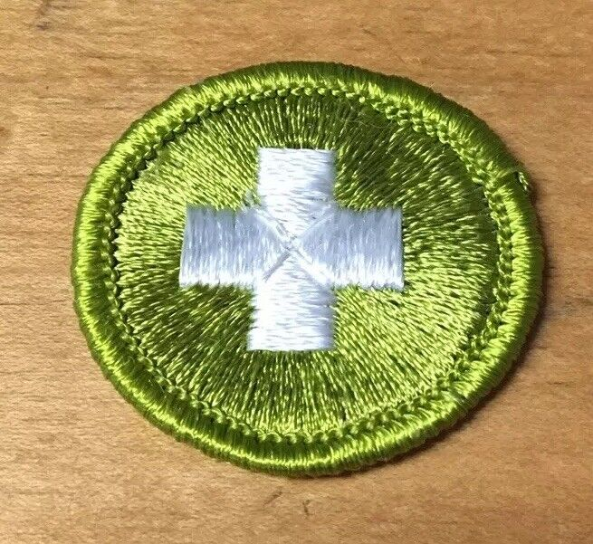 BOY SCOUTS SAFETY MERIT BADGE  TYPE G  NEW