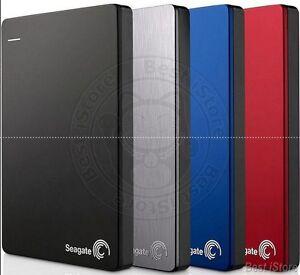 Seagate Backup Plus Slim 1TB My USB 3.0, 2.0 External Portable Hard Drive HDD