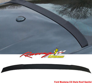2015-2017 Ford Mustang Unpainted Rear Roof Spoiler
