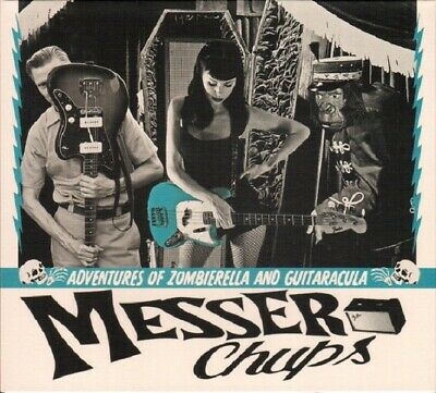 MESSER CHUPS - Adventures Of Zombierella and Guitaracula CD SURF, GARAGE - New