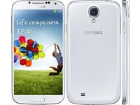Samsung S4 - sim free - mint condition - not powering up - for spairs and repair