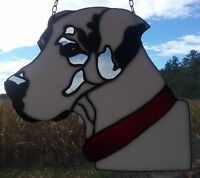 Stained Glass Great Dane