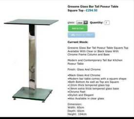 Luxury bar table