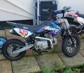 Juice Box 110cc Stomp Only 3 Months Old