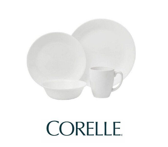 dinnerware plate dinner bowls mugs white 8