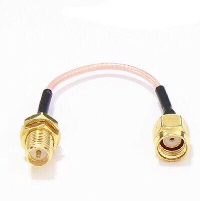 60mm Low Loss Antennenverlängerungskabel für Antenne SMA RP-SMA und FPV Sender - Low Loss Antennenkabel