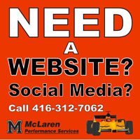 Websites, Social Media Set Ups, Low Flat Rates – Custom Ads