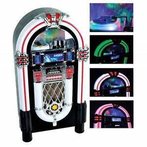 FACTORY SECOND JUKEBOX WITH CD, RADIO, BLUETOOTH, USB & SD Smeaton Grange Camden Area Preview