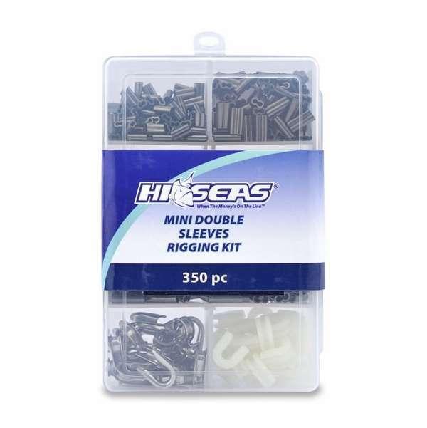 Hi-Seas TKB00002 Mini Double Sleeves Rigging Kit, 350 Pieces