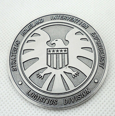 THE AVENGERS AGENTS OF SHIELD S.H.I.E.L.D. BADGE FULL SIZE