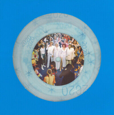 Abba, Happy New Year, NEW/MINT Numbered Ltd edition CLEAR vinyl 7