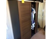 *CHEAP Large 3 sliding door wardrobe with mirror