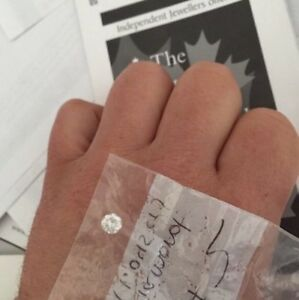 1.045 Ct Loose brilliant Diamond  Solitaire for ring $5,750