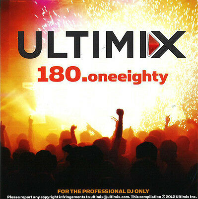 Ultimix 180 Cd Dj Remixes Chris Brown Rihanna Madonna Flo Rida Calvin Harris