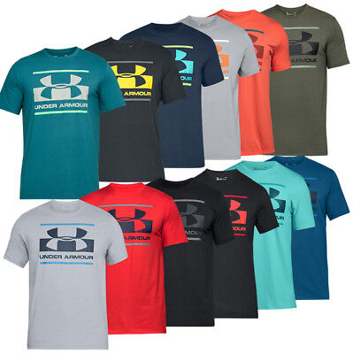 Under Armour Blocked Sportstyle Logo Short Sleeve Shirt Herren T-Shirt 1305667
