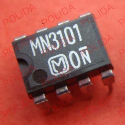 10pcs Clock Generatordriver Ic Panasonic Dip-8 Mn3101
