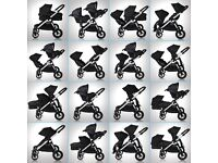 Baby jogger city select double tandem