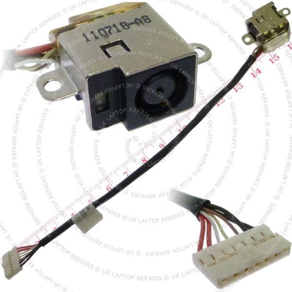 HP Pavilion DV6-6113CL DC Power Jack port Socket w/ Cable Connector Wire