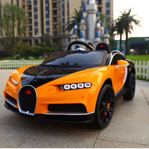 2018 Kids Bugatti 12v Ride on Car with RC,Mp3,Leather
